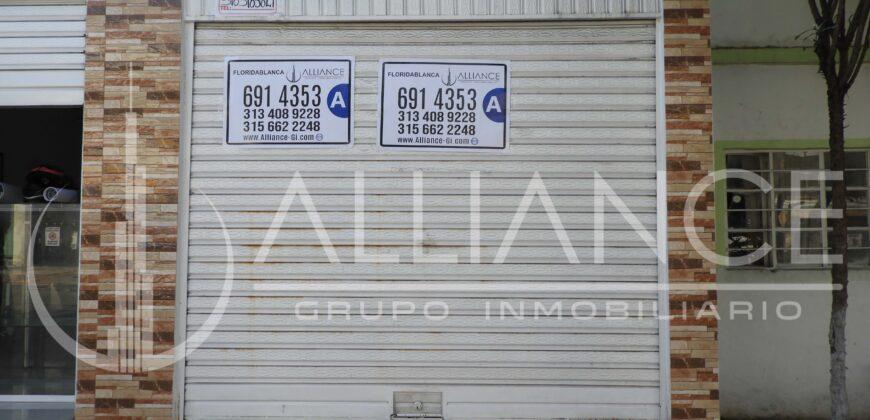LOCAL COMERCIAL CASCO ANTIGUO FLORIDABLANCA